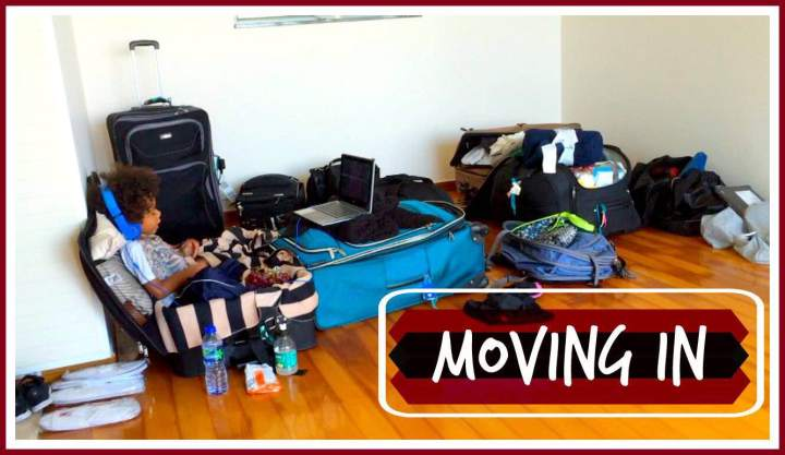Hong Kong Apartment: Moving In