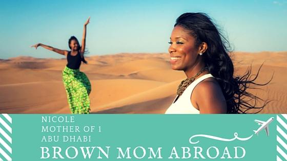 American in Abu Dhabi:Nicole